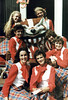 UW-Madison...posing with Bucky Badger after a show.