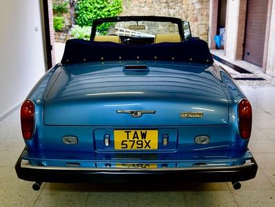 1981 Rolls Royce Corniche Convertible LHD