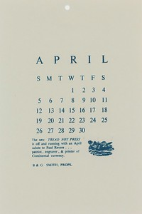 April, 1981, Tread-Not Press