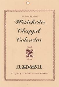 Cover, 1981, Wyvern Press