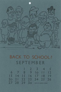 September, 1981, Out of Sorts Pres