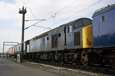 40062 awaits its fate at Kingmoor (16/04/1982)
