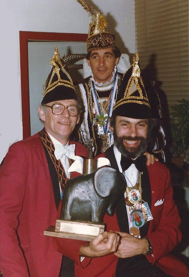 Winnaars van de optocht: de Waoterjokers