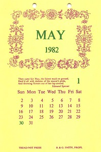 May, 1982, Tread-Not Press
