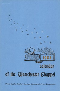 Cover, 1983, Rectory Basement Press