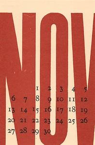 November, 1983, No Name Press