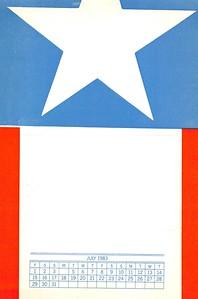 July, 1983, No Name Press