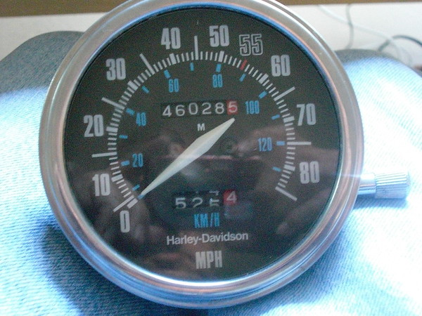 Speedo Repair - 1984 FLH
