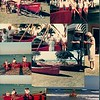 Christening and launch of the surfboat Lois Napthine Feb 1984 at Shelley Beach residence of Mil & Lois Napthine