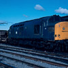 37292 at Stranraer Town 07/08/84. This was to become one of the last surviving class 37s at 37425.
