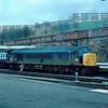 45104 at Sheffield working the 14:23 York - Plymouth 29/02/84