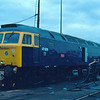 Newly converted 47606 at Crewe Works 12/02/84