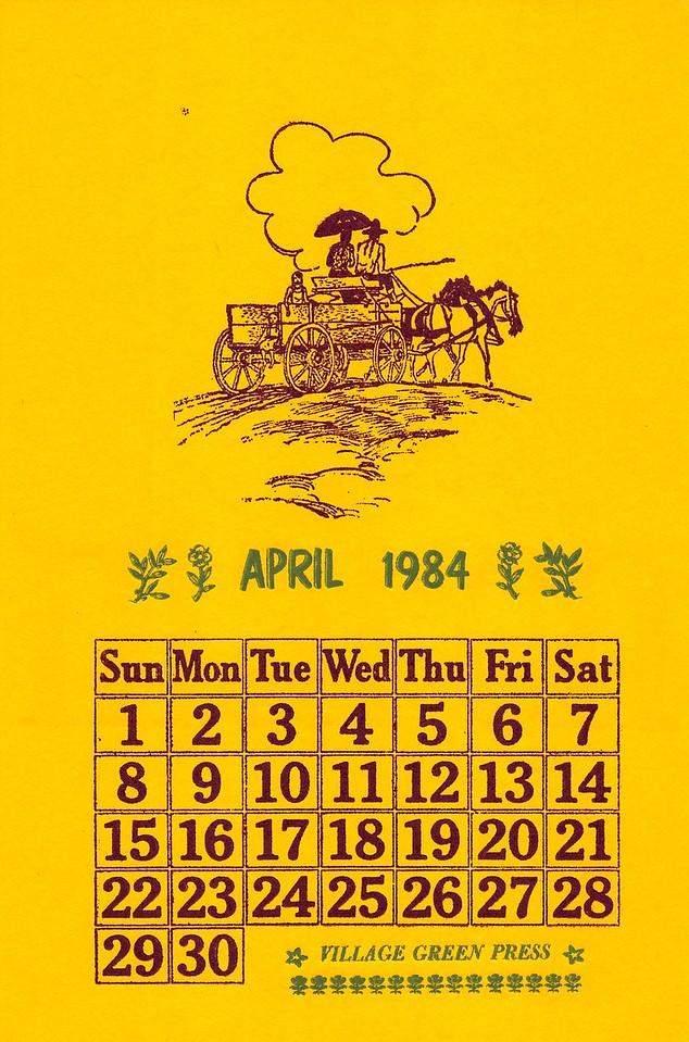 April, 1984, Village Green