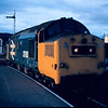 37183 at Inverness after working the 17:10 Kyle of Lochalsh - Inverness 04/08/84