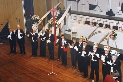 Prinsenproclamatie met de Raad van Elf met President Jos van Lier