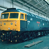 47579 is in the final stages of overhaul at Crewe Works 25/03/84