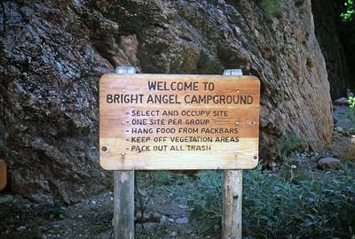 6/26/1985 - Grand Canyon Rim to Rim Hike