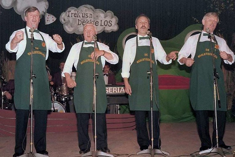 Kieke ze Kieke Schlagerfestival: de Waelsteentjes van Het Geberste Kruukske
