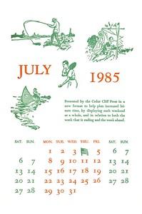 July, 1985, Cedar Cliff Press