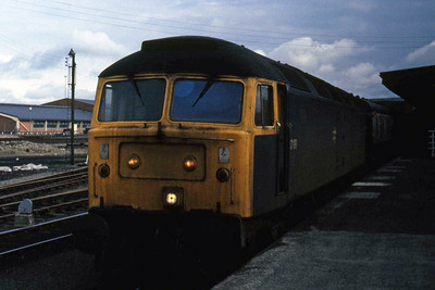 47199 waits to depart from York with 1V31 1030 relief to Plymouth (09/04/1985)