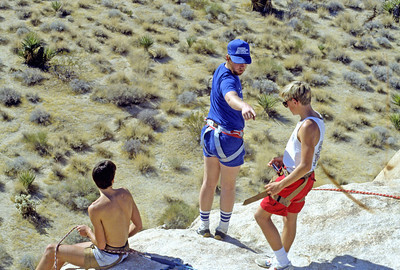 10/24/1986 - Joshua Tree Cliff Hanging Adventure