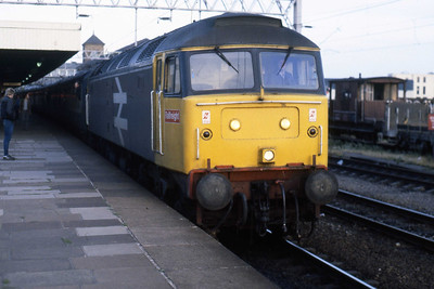 My second 'winner' of the day, 47362 arrives at Nuneaton with 1M76 1600 Yarmouth-Birmingham (02/08/1986)