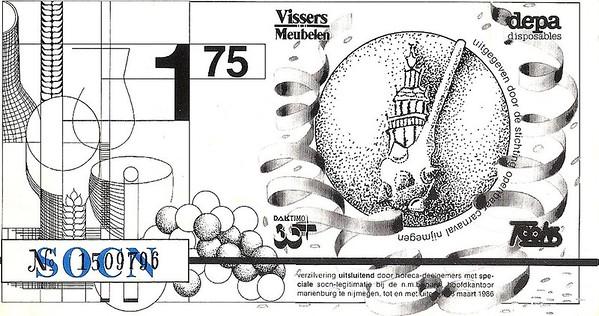 Soplap: betaalmiddel in die tijd met een waarde van 1,75 in guldens