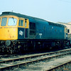 33053 at Eastleigh Depot 15/02/86
