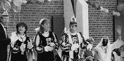 Prins Ger den Eerste en zijn kabinet op bezoek