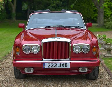 1987 Bentley Continental 222 JXD