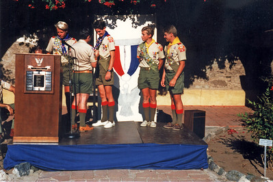 7/12/1987 - 4 Eagles Court of Honor