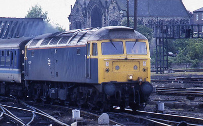 47544 arrives at York with 1E08 1103 Liverpool-Newcastle (22/05/1987)