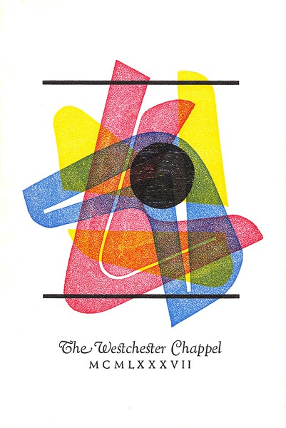 Cover, 1987, Glad Hand Press