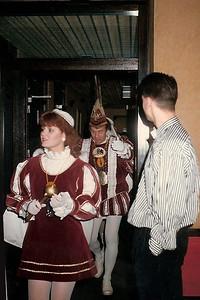 Prins Harm den Eerste  bij Kiek ze Kieke in café Groenewoud