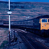 47558 passes Garsdale with the 15:40 Carlisle - London Euston 03/05/87