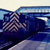 Cut down cab 08992 + 08991 pass through Llanelli 09/03/87