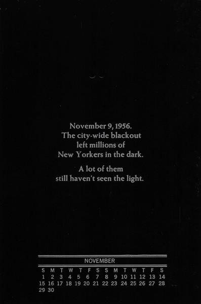 November, 1987, No-Name Press