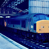 45022 heads 31240 and 45029 at Manchester Victoria 03/01/87