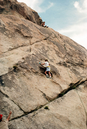 11/4/1988 ~ 11/6/1988 - Rockclimb @ Joshua Tree National Park