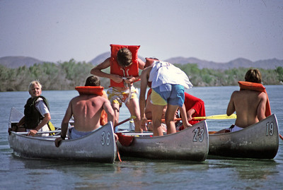 4/7/1988 - Colorado River Canoe Trip