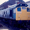 Withdrawn 25244 on Eastleigh Works 26/03/88