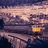 33064 arrives at Bath Spa working the 14:15 Portsmouth Harbour - Cardiff Central 14/02/88