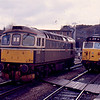33008 + 50034 at Bristol Temple Meads 22/01/88