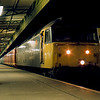 47489 at Cardiff Central working the 02:04 from Crewe 27/02/88