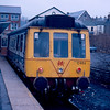 C465 at Merthyr Tydfil about to work the 08:26 to Coryton 27/02/88