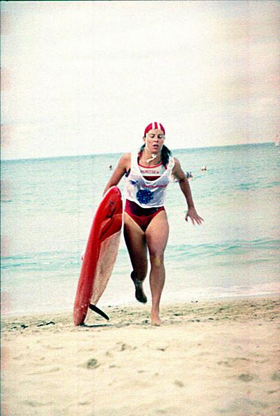 25th March 1990<br /> Lorne<br /> SLSV Championships<br /> <br /> Ladies Malibu<br /> Sue Dimmick<br /> 1st