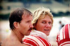 25th March 1990<br /> Lorne<br /> SLSV Championships<br /> <br /> L-R<br /> Noel Callaghan<br /> Suzette Dootjes