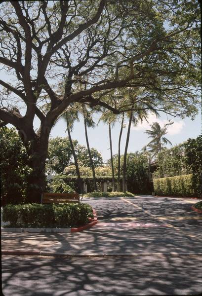 1989 Entrance to the Outrigger Canoe Club