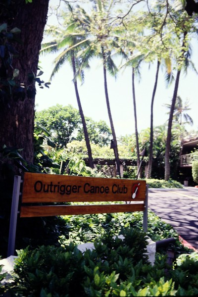 1989 Outrigger Front Entry