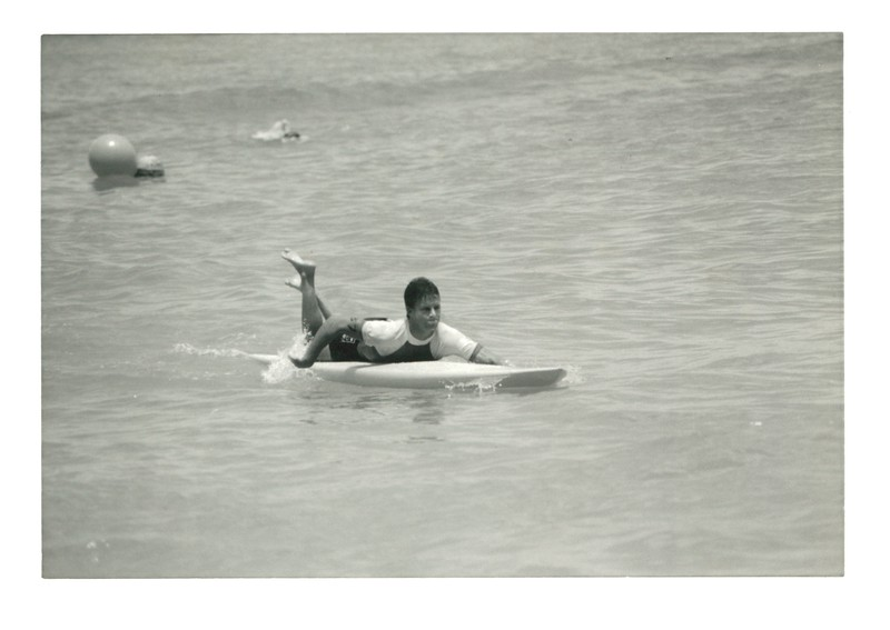 1989 Summer Surf Paddleboard Race